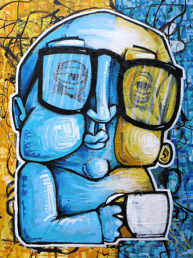 Half N Half Painting