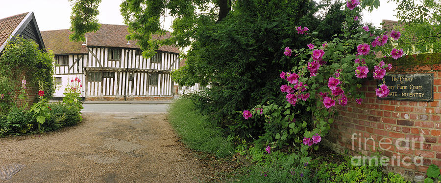 Half-timered House Lavenham Photograph