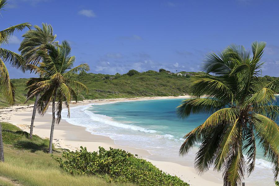 Horizontal Photograph - Halfmoon Bay, Antigua And Barbuda by Michele Falzone