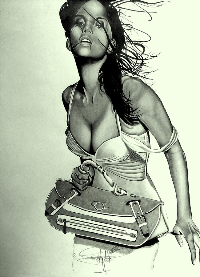 Halle Berry Drawing Drawing