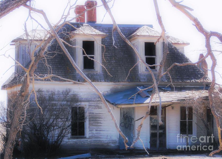 Halloween House Photograph