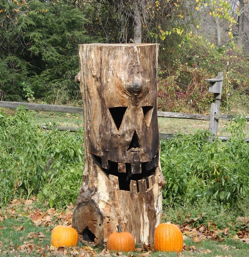 Halloween Photograph - Halloween Tree  by Allison Walker