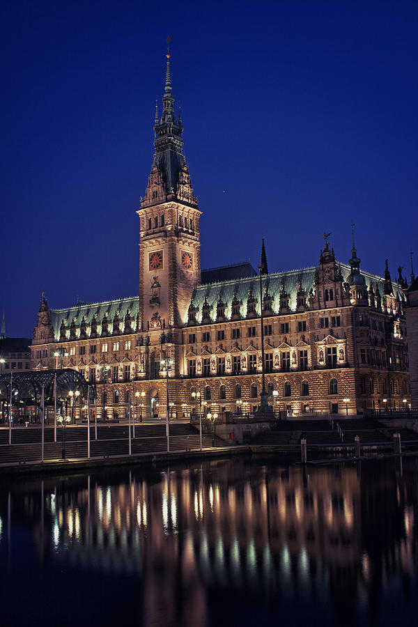Hamburg City Hall Photograph  - Hamburg City Hall Fine Art Print