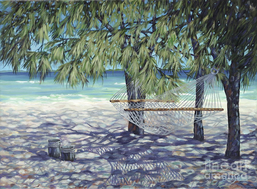 Hammock For Two Painting