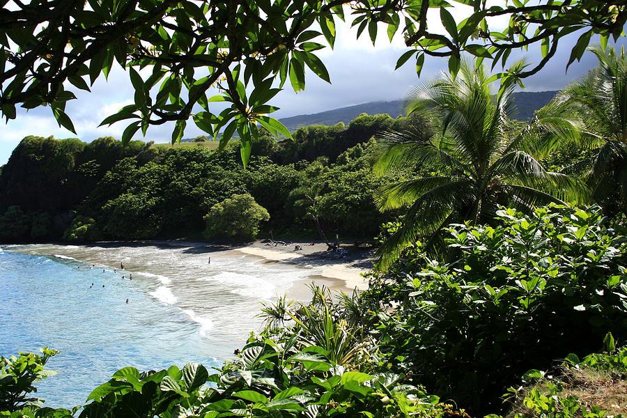 Hamoa Beach Maui Hawaii Photograph