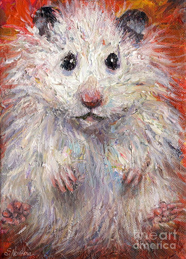 Hamster Painting  Painting