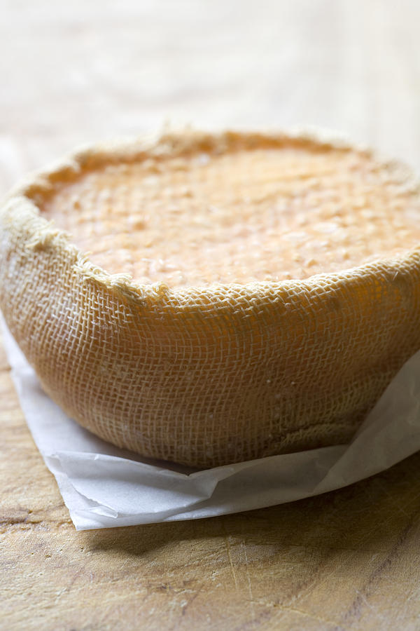 Handmade Raw Milk Goat Cheese From Extremadura - Spain Photograph