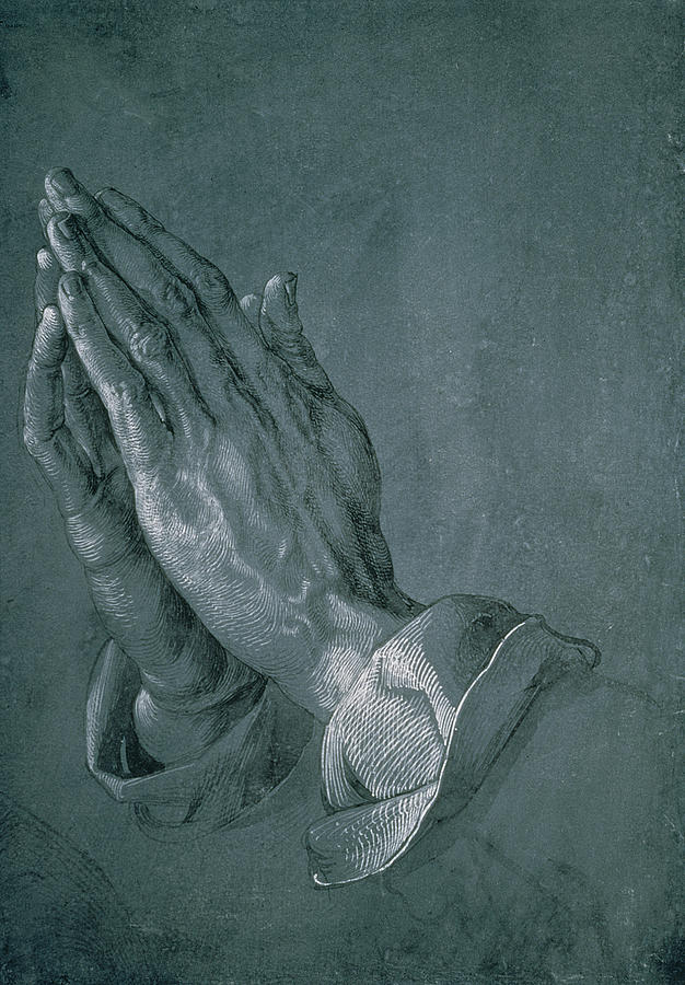 Hands Of An Apostle Drawing