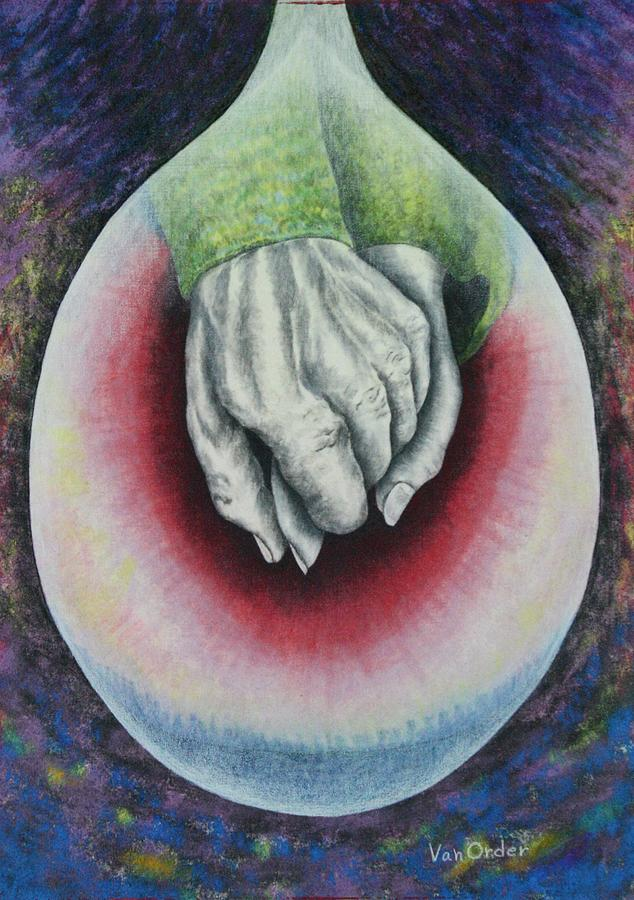 Hands Of Love Mixed Media  - Hands Of Love Fine Art Print