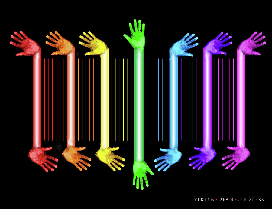 Hands Of The Artist Digital Art