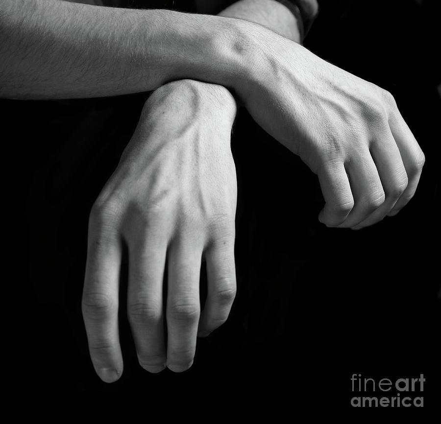 Hands Study Photograph
