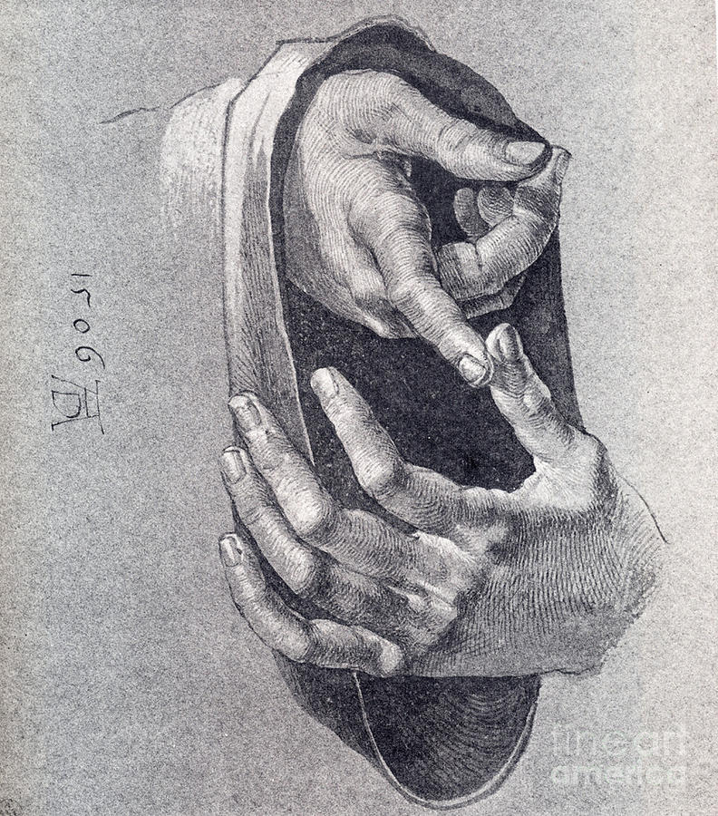 Hands  Study Painting