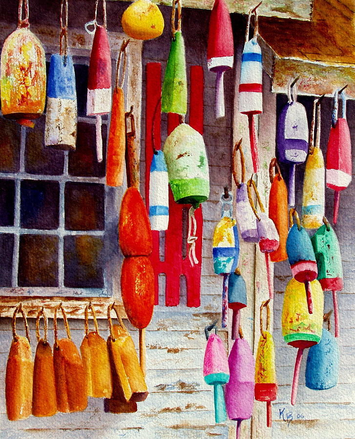 Hanging Around Painting  - Hanging Around Fine Art Print