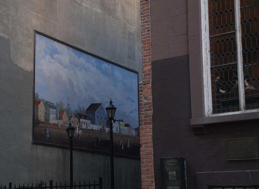 Hanging Art In N Y C  Photograph