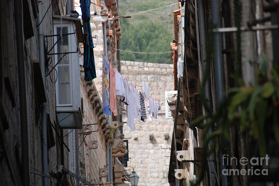 Hanging Out In Dubrovnik Photograph