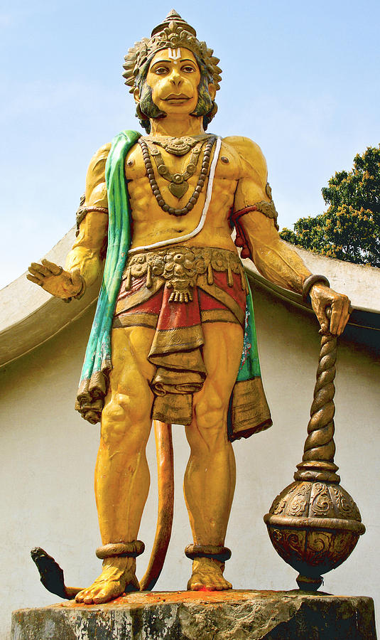 Hanuman At Dharamsala Photograph