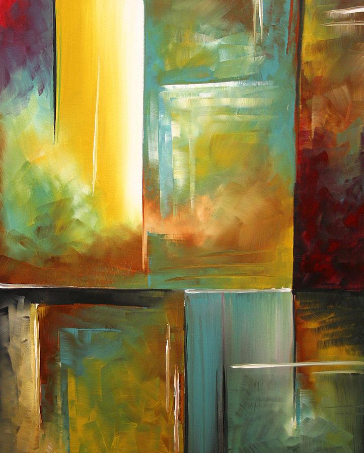 Haphazardous II By Madart Painting