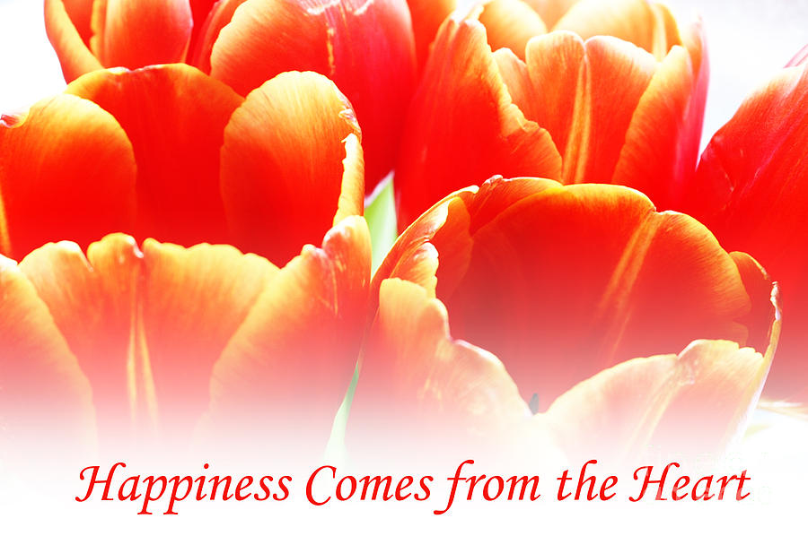 Happiness Digital Art  - Happiness Fine Art Print