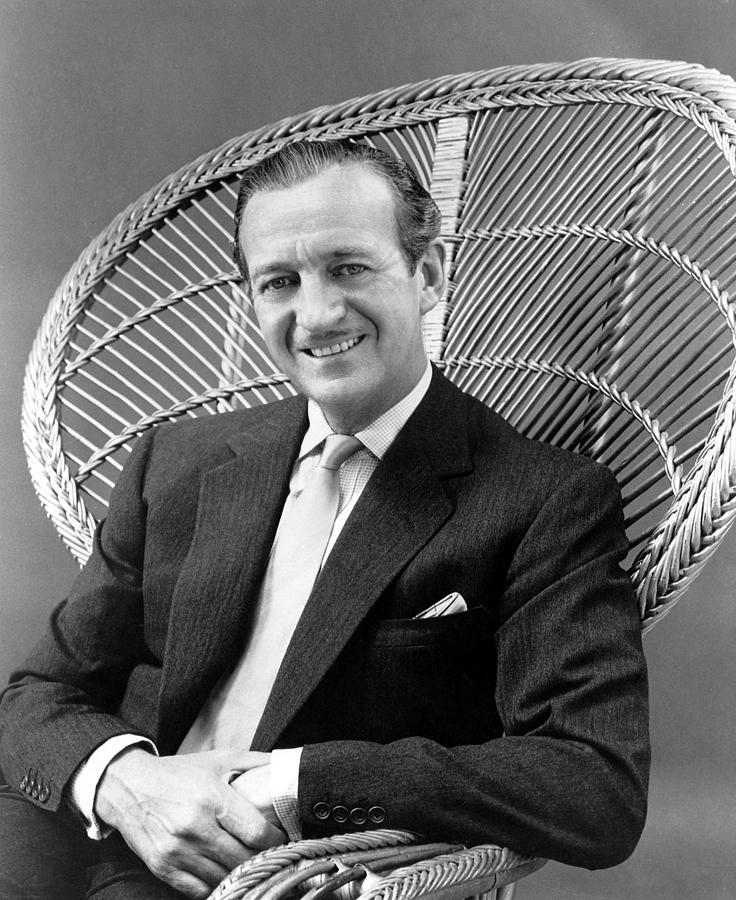 Happy Anniversary, David Niven, 1959 Photograph  - Happy Anniversary, David Niven, 1959 Fine Art Print