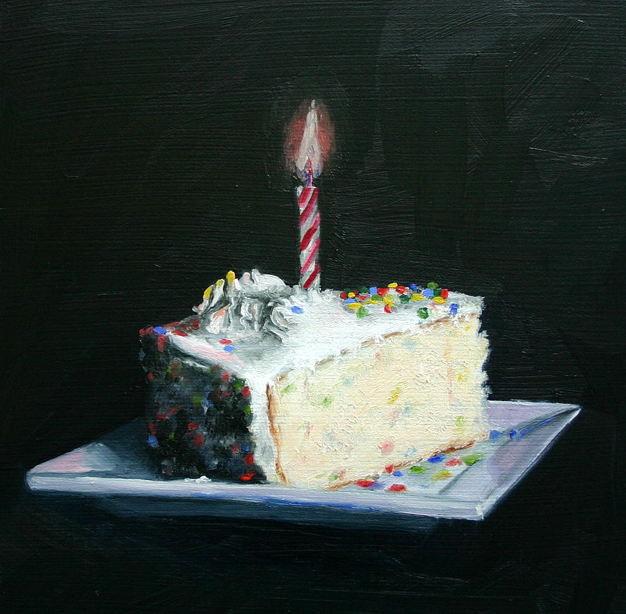 Birthday Cake Art Gallery : Happy Birthday by Cindy Cradler