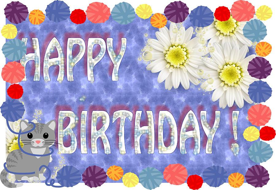 Happy Birthday Wish Digital Art by Ronel Broderick