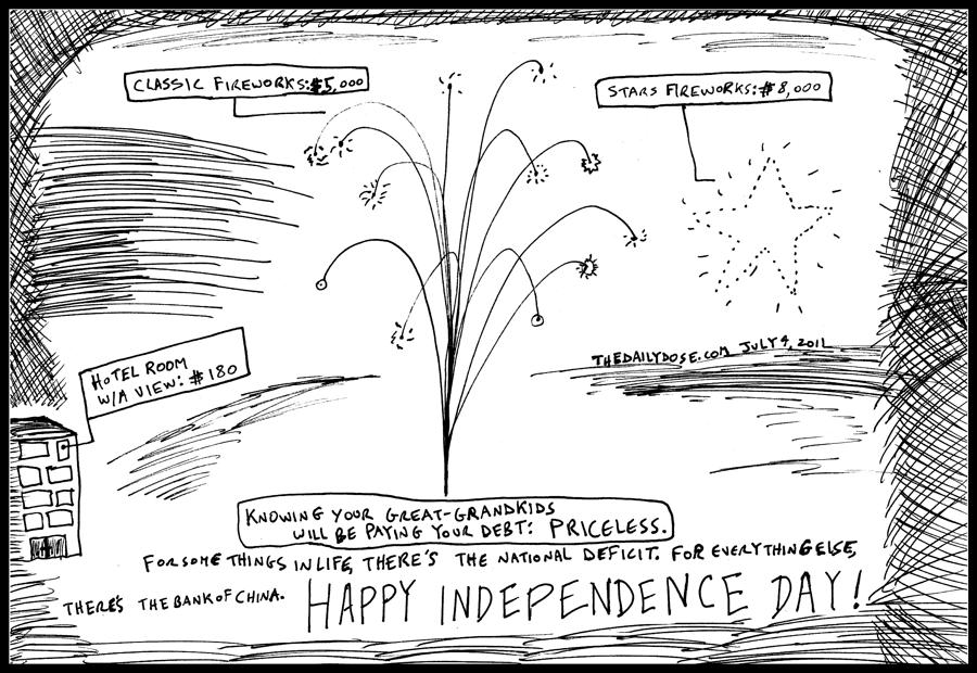 Happy U.s. In Dependence Day Drawing
