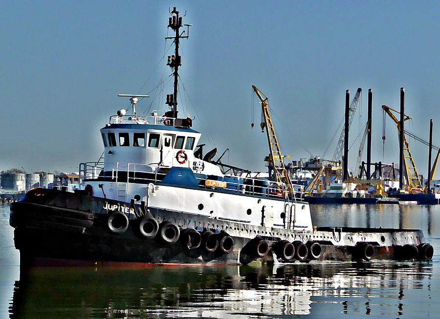 Harbor Tug Photograph  - Harbor Tug Fine Art Print