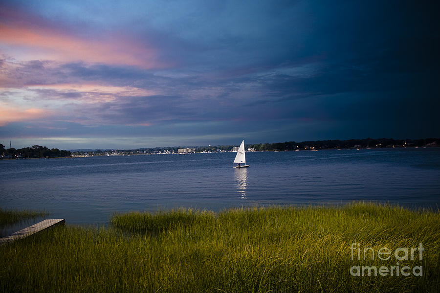 Harborview Sunset Photograph  - Harborview Sunset Fine Art Print