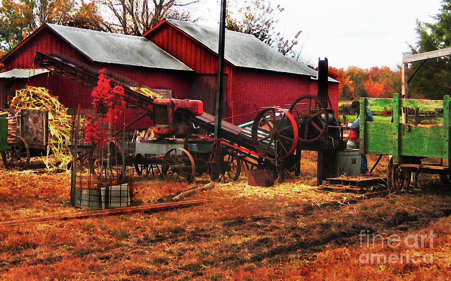 Farmscape Photograph - Hard At Work by Terril Heilman
