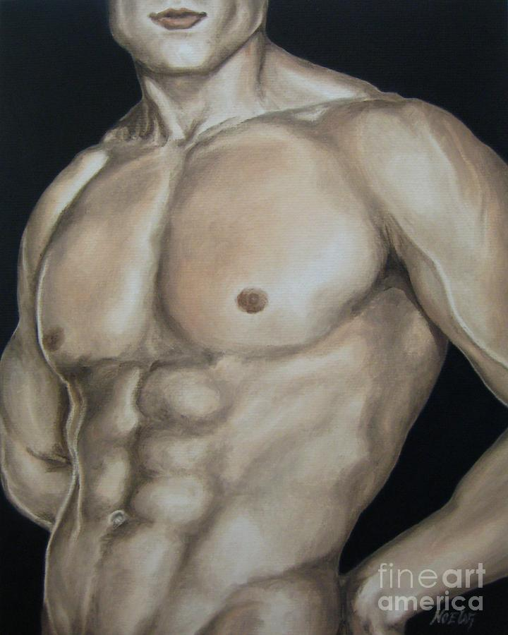 Hard Body Painting  - Hard Body Fine Art Print