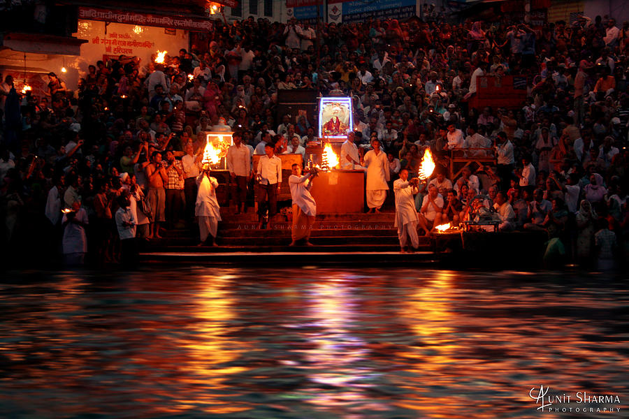 Haridwar Photograph  - Haridwar Fine Art Print