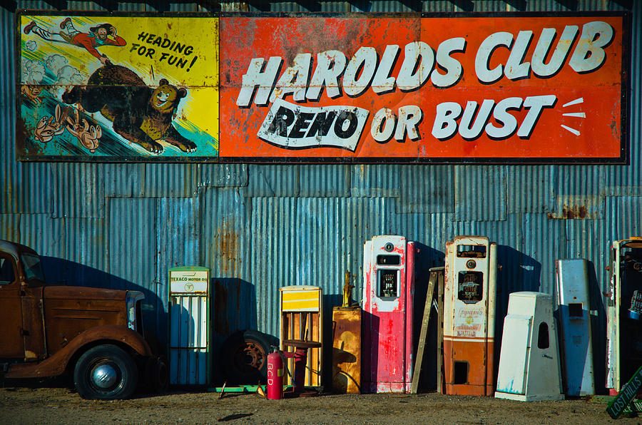 Harolds Club Photograph  - Harolds Club Fine Art Print