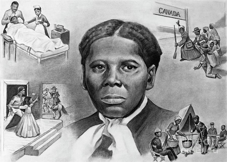 Harriet Tubman Painting
