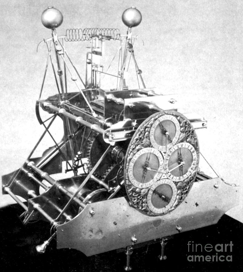Harrisons First Marine Timekeeper Photograph