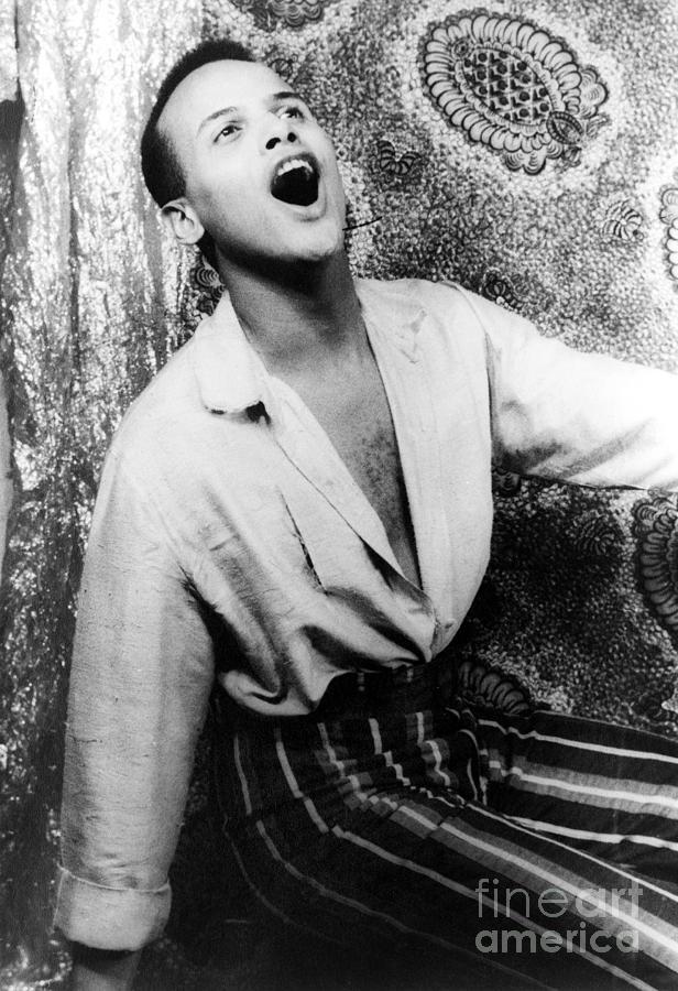Harry Belafonte (1927- ) Photograph