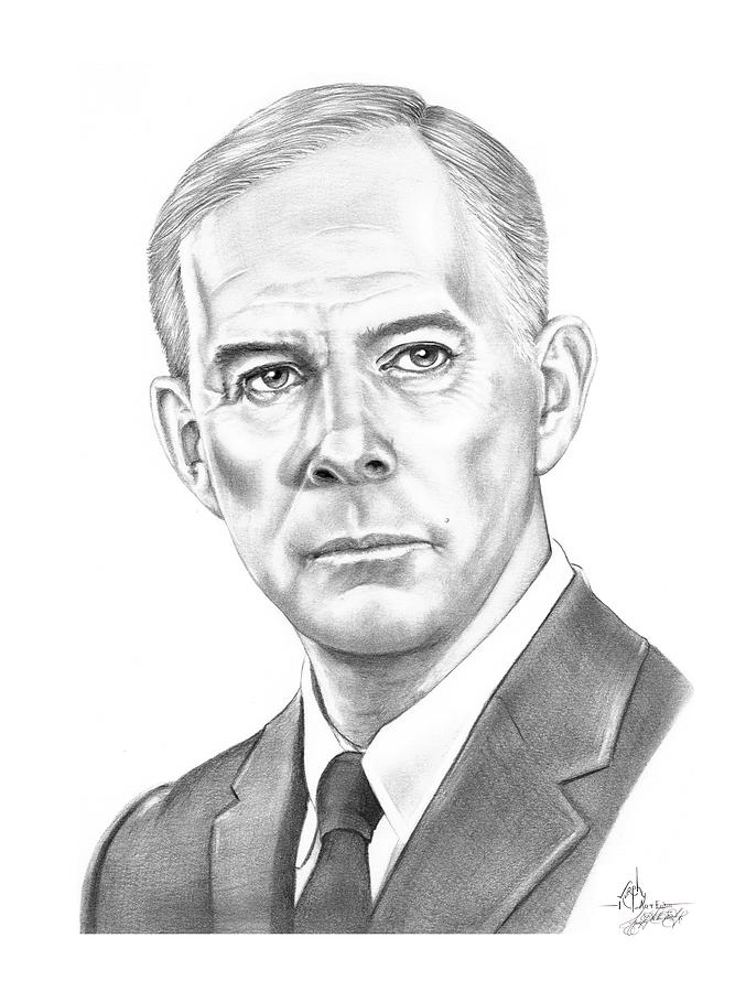 Harry Morgan Drawing  - Harry Morgan Fine Art Print