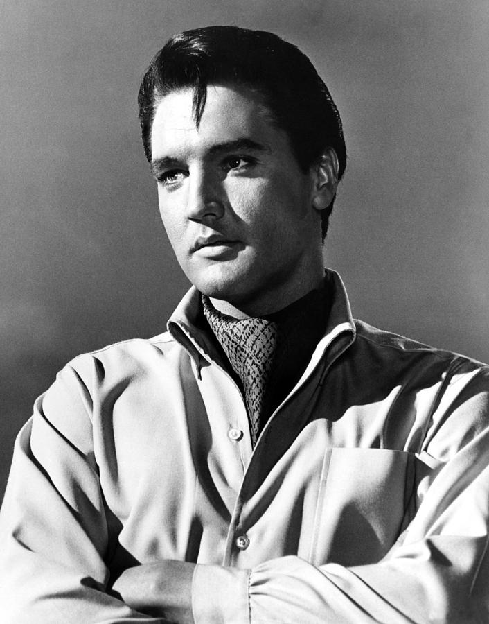 1960s Portraits Photograph - Harum Scarum, Elvis Presley, 1965 by Everett