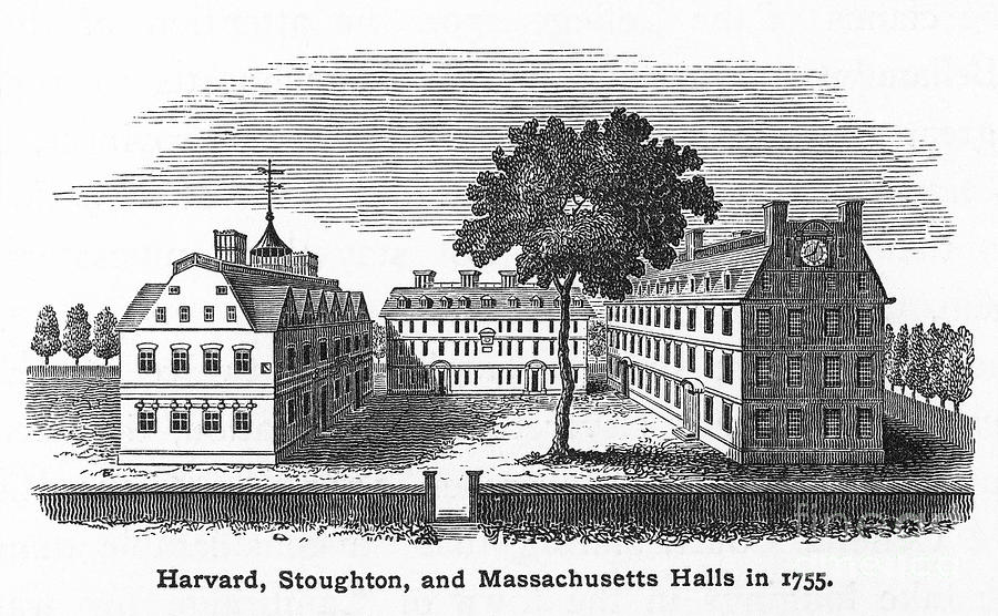 Harvard University, 1755 Photograph