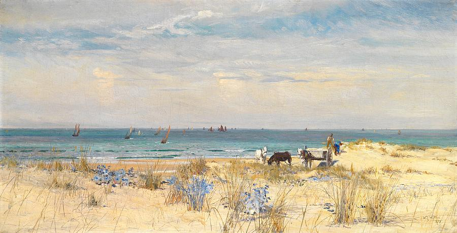 Harvesting The Land And The Sea Painting  - Harvesting The Land And The Sea Fine Art Print