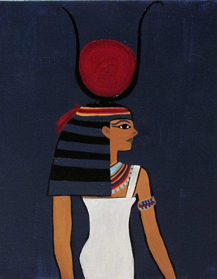 Hathor Painting