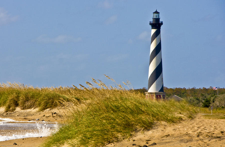 Hatteras Lighthouse Photograph  - Hatteras Lighthouse Fine Art Print