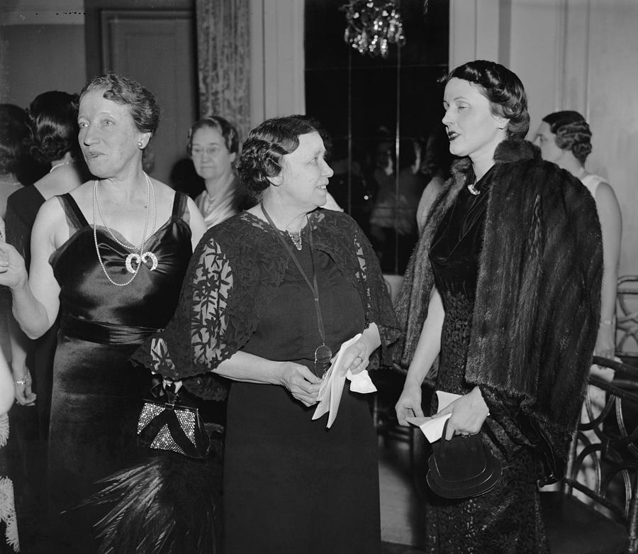 History Photograph - Hattie Caraway, Woman Senator by Everett