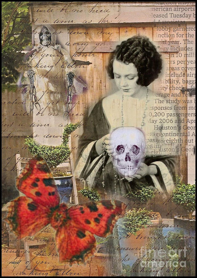 Haunted Garden Digital Art