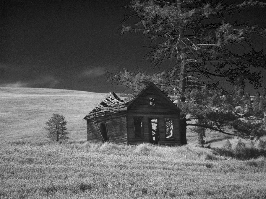Home Photograph - Haunted House by Anne Mott