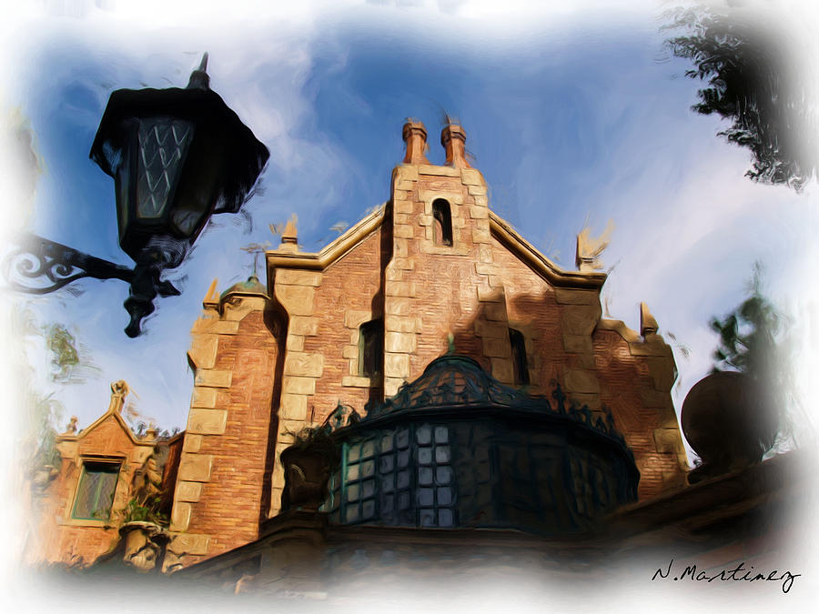 Haunted Mansion Photograph  - Haunted Mansion Fine Art Print