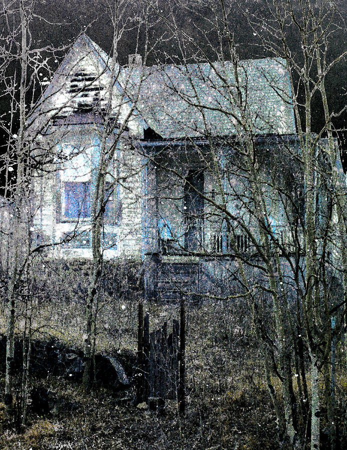 Haunted Digital Art  - Haunted Fine Art Print
