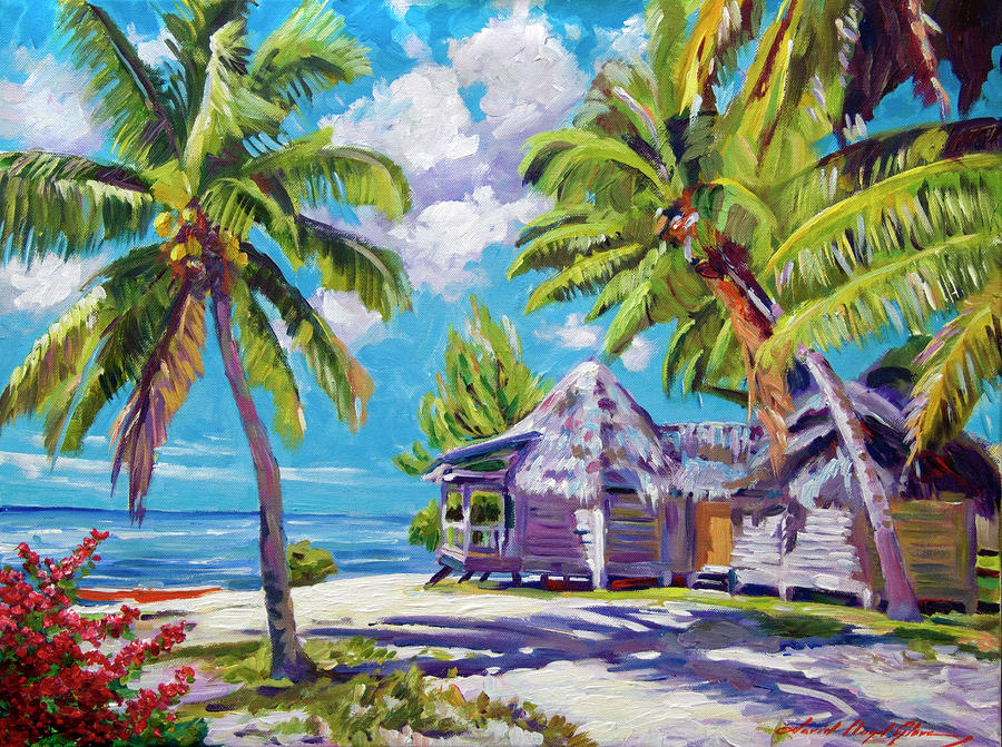 Hawaii Beach Shack Painting