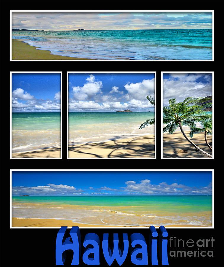 Hawaii Pentaptych Photograph