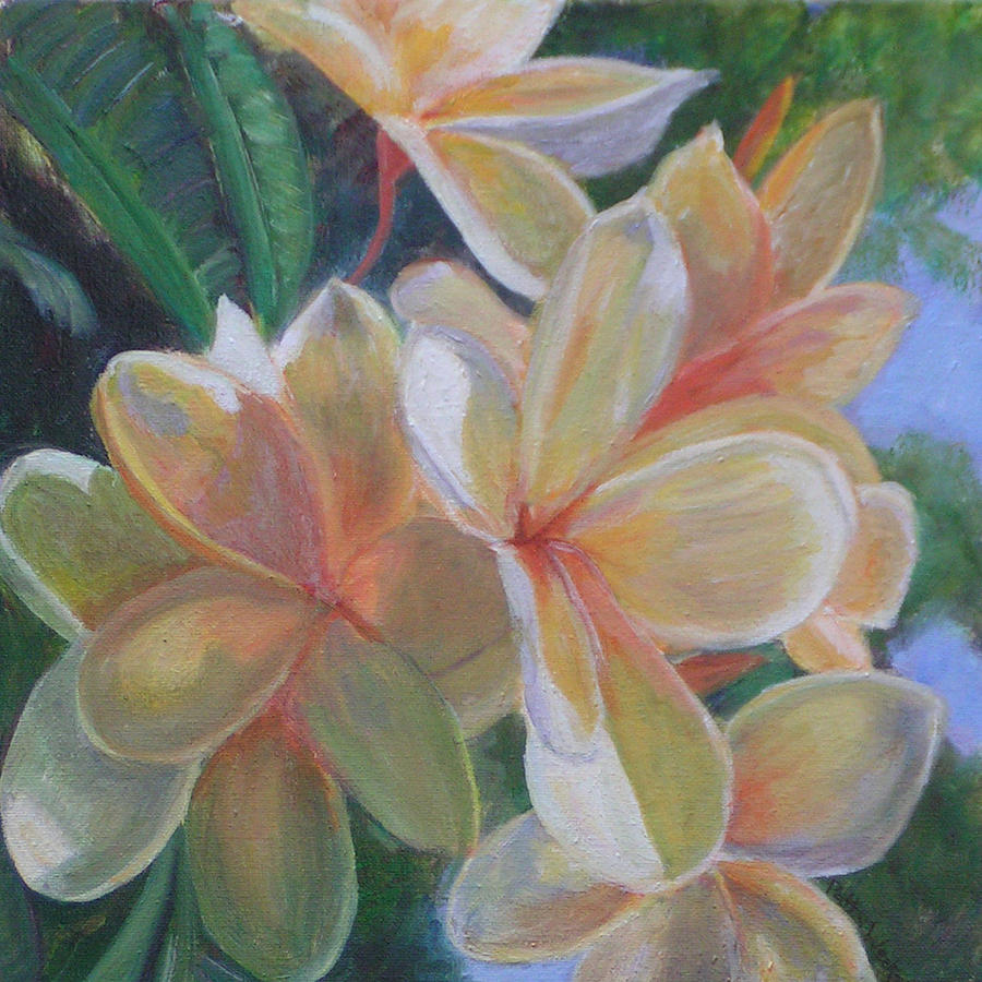 Hawaiian Flowers by Patty Weeks