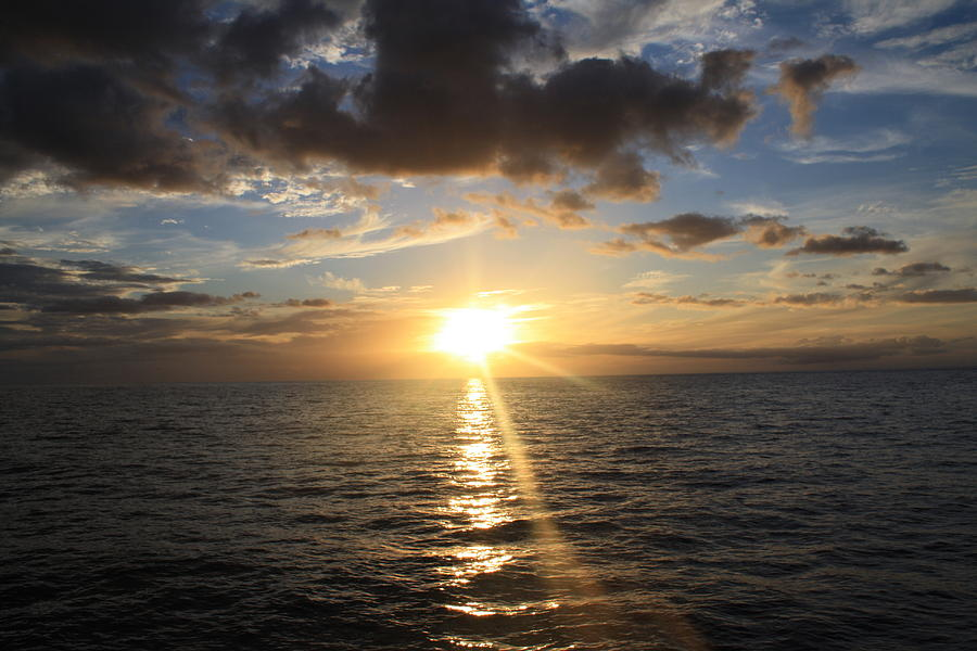 Hawaiian Sunset 2 Photograph